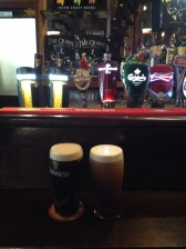 His and hers (Reed's Guinness and Erin's Kilkenny Cream Ale)