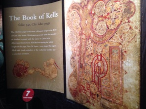 Book of Kells: Chi Rho page