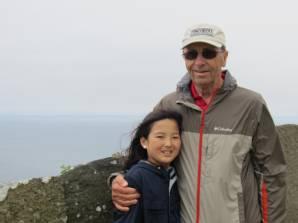 With Grandpa!