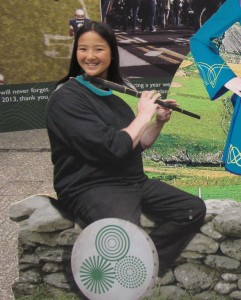 Abbie the Irish flutist
