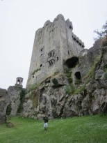 Jackson under the Blarney Castle