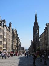 Lower portion of the Royal Mile