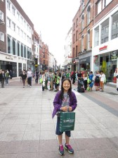 Grafton Street (doesn't show how busy it is!)