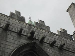 Gargoyes at the Church of Ireland, Galway