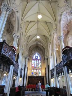 Inside the chapel at Dublin Castle