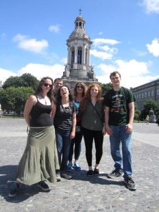 The group at Trinity