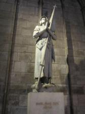 Joan of Arc, Notre Dame Cathedral