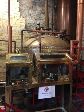 Oldest working pot still in the world (Kilbeggan Distillery)