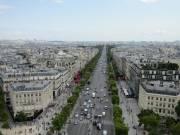 Avenue des Champs-Élysées from the Arc de triomphe