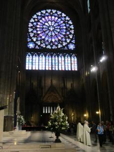 Eucharist, Notre Dame Cathedral