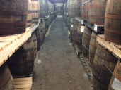 Smelled delightfully of the angel's share (Kilbeggan Distillery)
