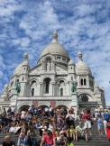 Up to the Basilica of the Sacre Coeur