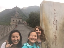 1000 Steps at the Great Wall (Juyongguan) with Julia
