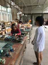 At the Terracotta Warrior Replica Factory