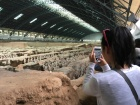At the Terracotta Warriors